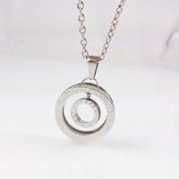 2014 New arrival!Men jewelry Titanium Steel necklace with pendant Wholesale necklace /fashion pendant F06