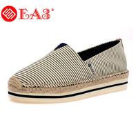 Ea3 canvas shoes female bread paltform shoes elevator bag mary women's shoes