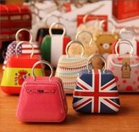 Free shipping new Handbag mini storage tin box small candy box cute iron box 12 different design 3.5x5.5X3.5cm