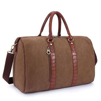 2014 New Causal Style Canvas Travel Bag For Women Travel Duffle Sports Gym Bags Woman Large Shoulder Messenger Bag