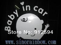 2014 Skull Family Baby in Car Stickers
