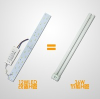 No.1 Quality 12W 18W LED Ceiling Panel Bar Light Lamp with Magnets Replace H Tube. 5730 Rectangle Magnetic Lamp