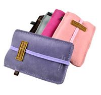 5pcs-lot fashion high quality Chamude 5 colors handbags Mobile new arrived  Phone Bags dirt-resistant  Case hot shop pouch