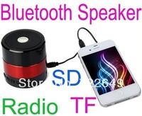 Portable Mini Bluetooth Hifi Speaker Micro SD/TF Card USB Disk Music Player MP3/4 Audio SDY001 FM Radio for iPhone Samsung pc