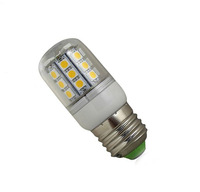 EMS /DHL E27 24 lED  5050 Lamp Bulb  Light 2.5w 300LM Home light 220V~240V Corn Light Free Ship