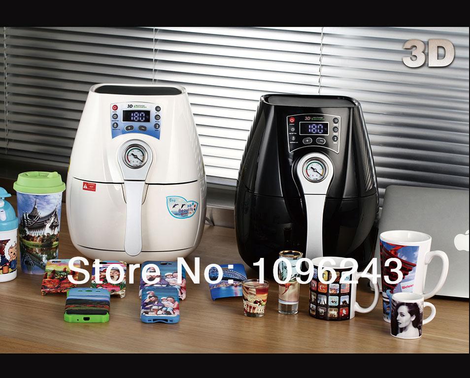 3D Sublimation Heat Press Machine 8 Moulds for Cellphone Cover 8pcs tool for Mug Plate, Mini 3D Subliamtion Heat Press Machine(China (Mainland))