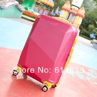Pull box travel bag trolley luggage 20 24 female universal wheels luggage married  box,high quality travel bags,2014 fashion
