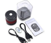 SDY001 Mini Portable Bluetooth Hifi Speaker Micro SD/TF Card USB Disk Music Player MP3/4 Audio FM Radio for iPhone Samsung pc