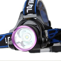 NEW Design Adjustable Headlamp CREE XM-L T6 2000 Lumens 3 Mode Rechargeable LED Headlight Camping Bicycle Riding
