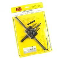 30-200mm Core Drill Bit circular saw a drill cutting tool adjustment hole saw wood tool Free shipping 1236