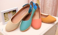 Free shipping2014 new European and American Peas shoes flat shoes women shoes with non-slip shallow mouth flat shoes