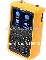 free shipping DVB-S & DVB-T Combo satllite finder sat-link WS6909 digital satellite finder meter Satlink WS-6909