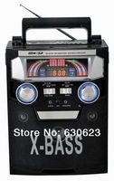 The latest  FM/AM Radio with USB recorder  and digital display  support USB/SD/Mobile phone built in rechargeable  battery
