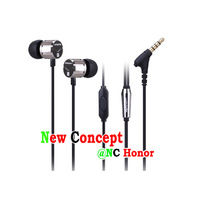 Lenovo V-moda LH608 black wired headset/the best Original Lenovo earphone for all of the Lenovo models