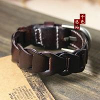 Cool Fashion Beautiful Punk Genuine Leather Bracelets New Arrival Bracelet