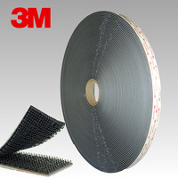 Free Shipping 3M SJ3551 Black Dual Lock Bacing VHB adhesive tape Type 400 Mushroom 3M Dual LOCK 25.4mmx45.7m