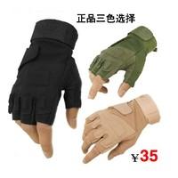 Tactical gloves black hawk semi-finger ride sports gloves outdoor slip-resistant cut-resistant explosion-proof supplies