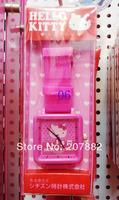 100pcs/lot! 2014 Fashion Hello Kitty Silicone Slap Watch Women Quartz Watch Jelly Wrist Watch A3210 Free Shipping Via DHL