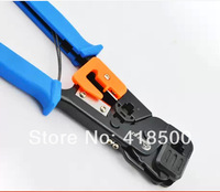 Sk-868g two-site ethernet cable plier crystal head network clamp crimping plier line crimping