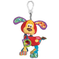 T0896 Multifunction Red dog Lathe hang/bed hanging with rattle & teether 0-1 year old baby newborn educational toy