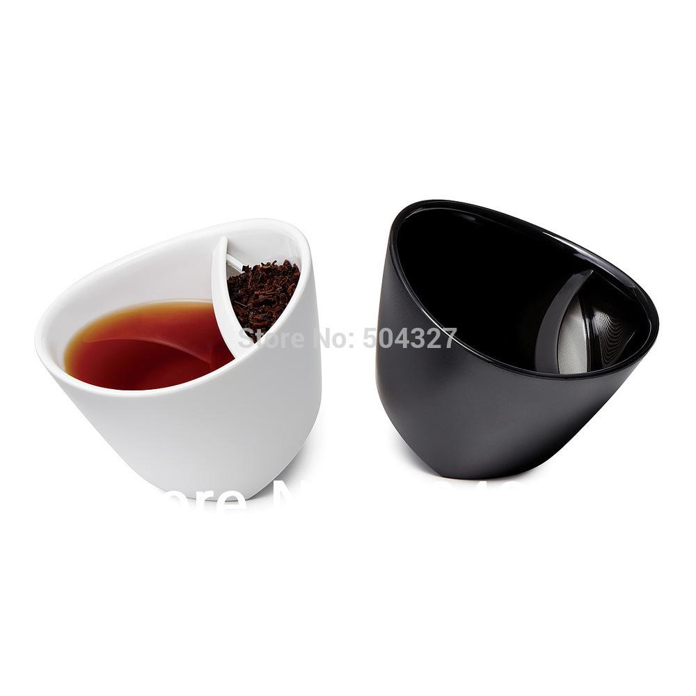Чашка с ситечком для заварки