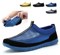 2014 Fashion summer shoes network breathable shoes for men cutout shoes hole shoes size38-43