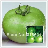 5 Original Bags 150pcs Green-emerald Tomato Seeds Bonsai Fruit Seeds Free shipping