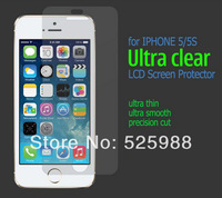 wholesale high quality Matte Front screen protector for iPhone 5 5G 5S 5C Screen Protective Film  100pcs/lot