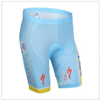 Free Shipping New 2014 Astana Team Mens Cycling Jersey Short Bibs Quick Dry Breathable Riding Bike Cycling Shorts Pants