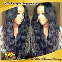 Best Selling U Part Wig 100% Unprocessed Brazilian Virgin Human Hair Upart Wigs Long Body Wavy 150% Density For Black Women