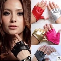 Free shipping half  finger gloves