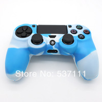 Hot sale 10PCS 7 Colors Available Silicone Case Skin Cover For Playstation 4 PS4 Controller