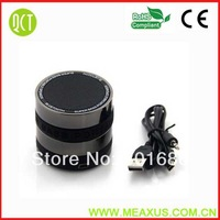 100pcs Lots Free Shipping  Mini Portable Bluetooth Handsfree Wireless Speaker with Camera Lens Design for Smart Phone