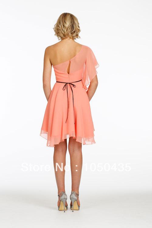 Blush Pink Plus Size Bridesmaid Dresses : Wholesale short blush pink chiffon bridesmaid dresses