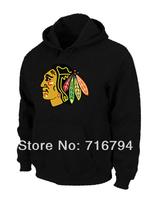 Cheap NHL Chicago Blackhawks Big & Tall Logo Pullover Hoodie Black,Free Shipping