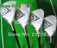 "2014 New Golf Clubs J.P.X 825 golf Hybrids wood 2""/3""/ 4""/5"" loft(3pcs)graphite/steel shaft clubs plus Headcovers/ Free Shipping"