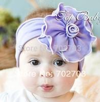3pcs /lot colorful elastic hairband good quality novel gift international purple fashion baby headband