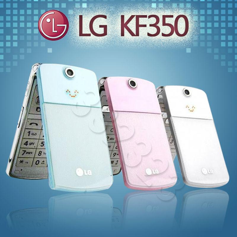 Original lg kf350 crème glacée 3.15mp mp3 gsm déverrouillé téléphone mobile livraison gratuite