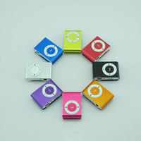 Free Shipping 10PCS/Lot 8 color support 8GB Micro SD(TF) card slim Mini MP3 Multimedia Player
