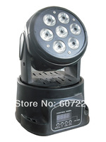 LED moving head wash effect light  with 7PCS*10W RGBW quad color led stage lighting for dj club,party