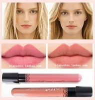New Arrival Waterproof A B color choose Elegant Daily Color Lipstick matte smooth lip gloss Long Lasting Sweet girl pink Makeup