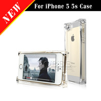 Funny Crystal Clear Transparent Ice Back Case for iphone 5 5s 5g,Hard PC Plastic New Cover for iphone 5 5s 1pc/lot Free Shipping