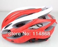 Free shipping road/mtb bicycle Adult Men helmet, red helmet bike for sale