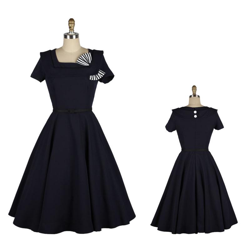 50s Swing Dress Promotion Online Shopping For Promotional 50s Swing Dress On Aliexpress Com