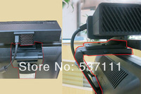 Super Hot Retail New Sensor TV Clip Mount Stand Holder for Microsoft Xbox One 2 Motion Kinect 2.0 Black