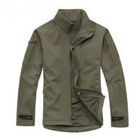 spring new 2014 dress tid soft shell fleece outdoor jacket hiking clothing autumn and winter thermal ski suit
