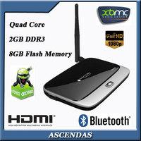 Android Media Player Quad Core CS918 Google RK3188 Mini PC 1080P HDMI WiFi XBMC Smart TV Box