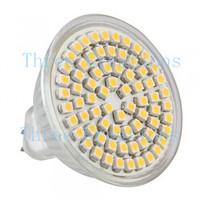 5pcs MR16 GU5.3 Warm White 3528 SMD 72 LED Spot Lamp Bulb 12V LED0048