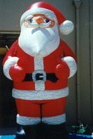 Free shipping for 5m inflatable Father Christmas cartoon, hot sell inflatable Father Christmas model