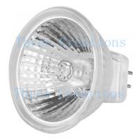 100pcs MR11 GU4 Warm White Halogen Lamp Bulb DC 12V 20W LED0038